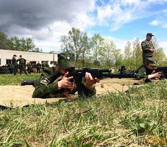 Накануне принятия военной присяги