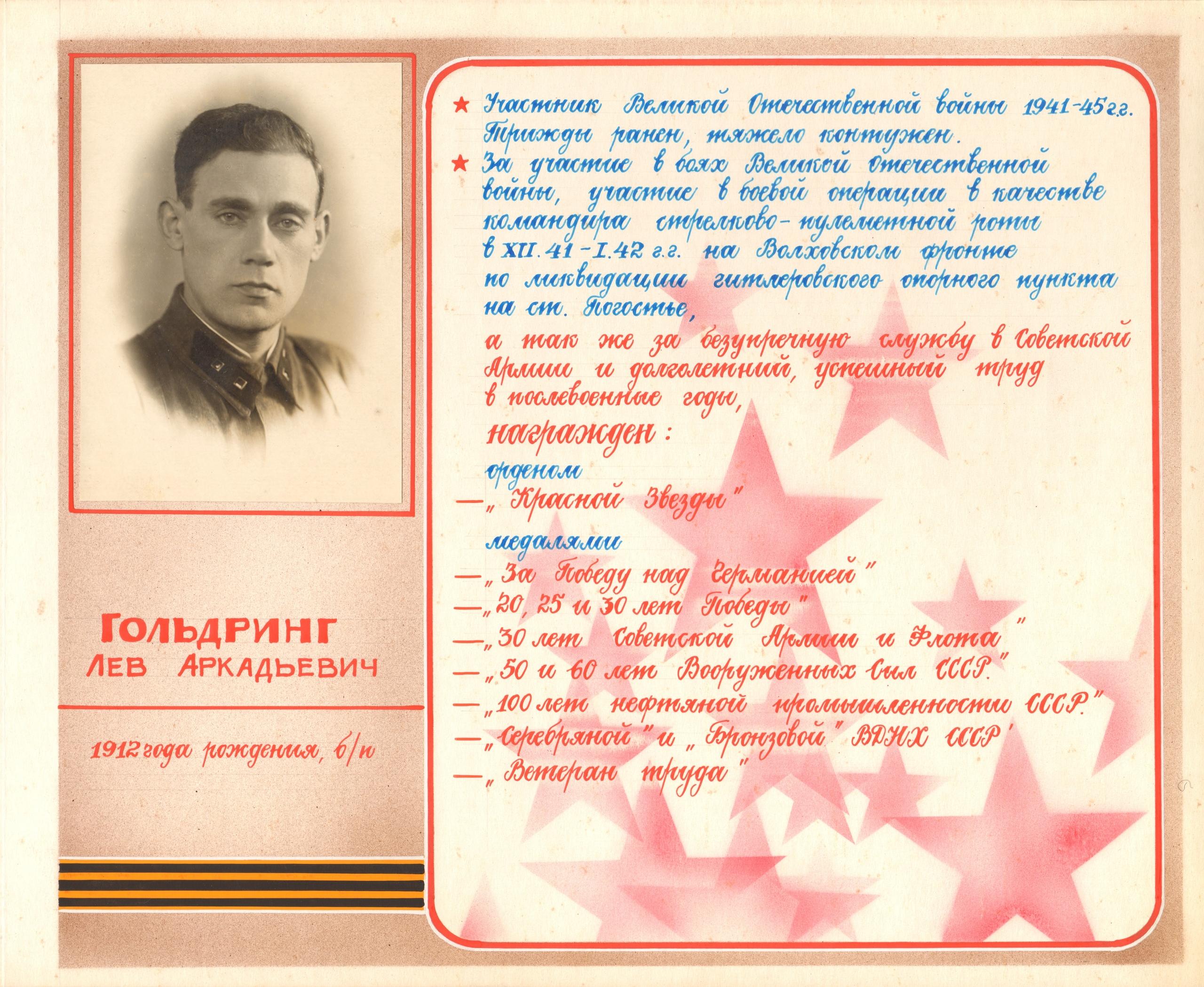 Гольдринг Лев Аркадьевич