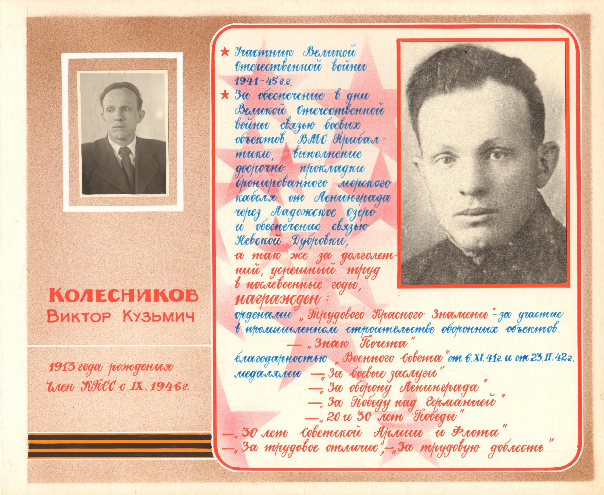 Колесников Виктор Кузьмич