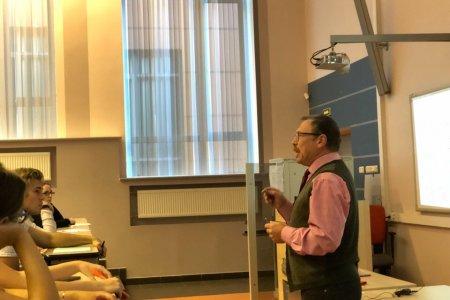 В СПбГУТ прошёл открытый урок по физике