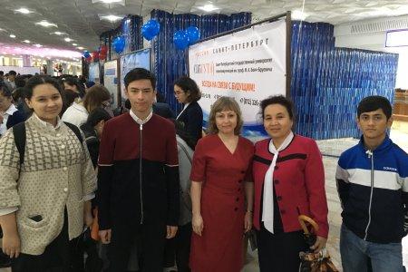 СПбГУТ на образовательной выставке в Узбекистане
