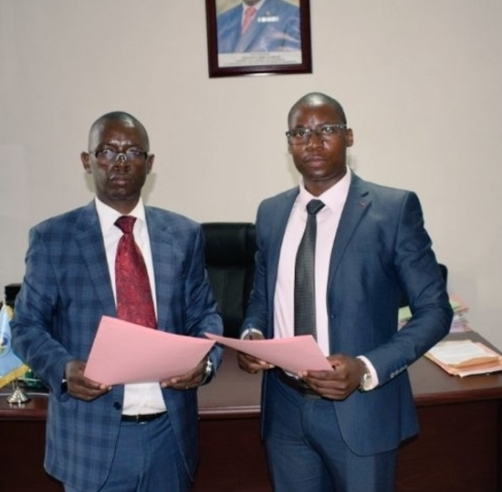A graduate of SPbSUT appointed by the head of Agency of Communications in Burundi