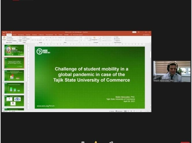Воркшоп по виртуальной мобильности на форуме ВВИО 2021