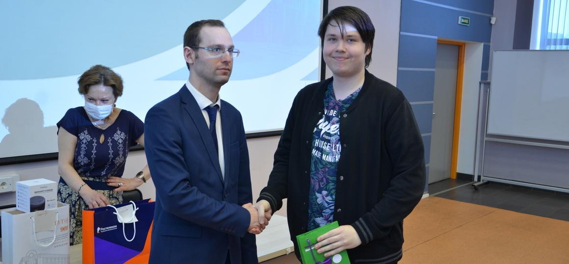 В СПбГУТ состоялось награждение победителей олимпиады «Инфотелеком-2021»