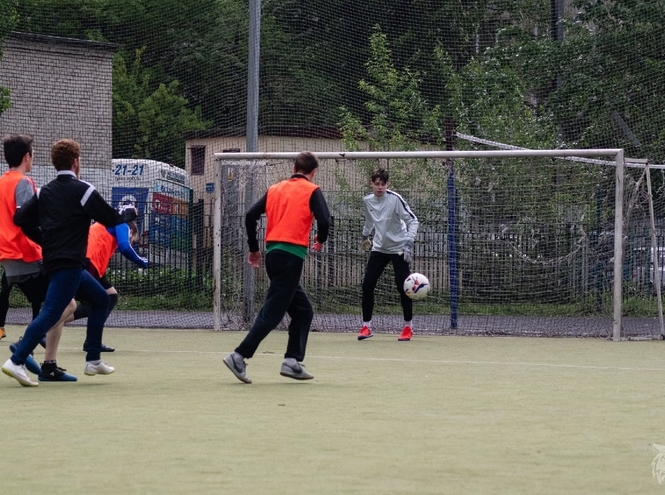 Спартакиада среди студентов: стритбол и мини-футбол